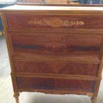 Simple Wood Dresser Before