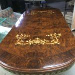 Table With Pattern On Top